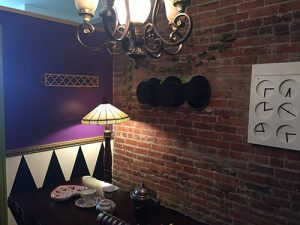 Madd Hatter room at escape room